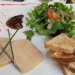 Foie Gras on 22 Euro menu