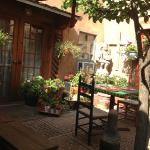 courtyard where we ate breakfast every morning :)