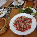Salle à manger - salade