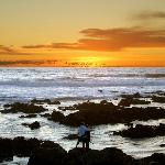 A Perfect Sunset in Cambria