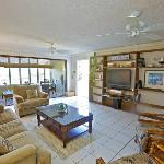 Living and Sunroom in Crystal Cove Condo Unit D28