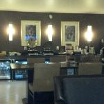 3rd floor Club Lounge, view of the food bar