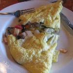Excellent omelette