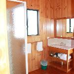 Cabin 1 bathroom