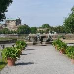 Stroll along the garden