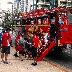 Excursões de ônibus anfíbio