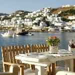 The old port....of Mykonos.