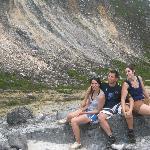 dengan teman-teman dari Spanyol di Gunung sibayak