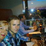 Diner d'anniversaire au 58 tour eiffel mercredi 22 aout 2012