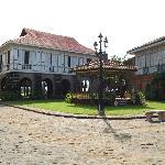 gazebo and Casa Luna