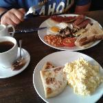 Colazione con Bumper English Breakfast al Bloomsbury Café convenzionato
