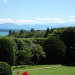 View of Lake Starnberg from Kaiserin Elisabeth Golfhotel