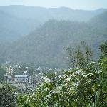 view over Rishikesh