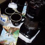 コーヒーメーカーとマグカップがうれしかった