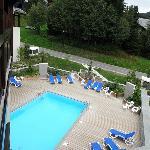 Vue piscine