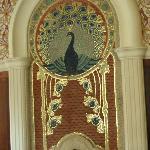 Mosaik im Speisesaal