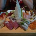 Sushi e sashimi del Kyodai....un sapore semplicemente spettacolare!!