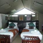 interno della tenda
