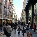 La rue Sainte Catherine