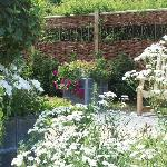 The gardens are maintained by volunteers.