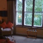 Huge bedroom window