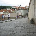 Close to Prague Castle