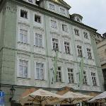 The baroque building