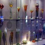 the glass display