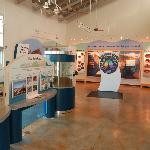 Interactive Exhibit Hall with Aquariums