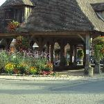 les halles du village