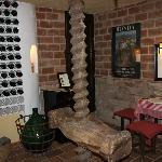 sherry tasting room