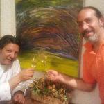 Giancarlo Polito un artista a 360 gradi....non solo un grande chef...ma anche un maestro di pitt