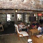 The cosy pub