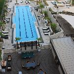 swimming pool from the 4th floor