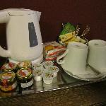 teas and coffees