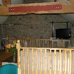 The lounge from the dining room