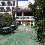 Jaipur - rear courtyard