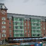 The hotel as seen from the Stadium
