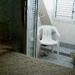 Camera con veranda