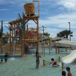 Wasser kinderspielplatz