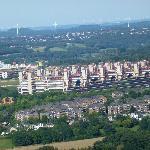 View towards Aachen from Drielanndenpunt