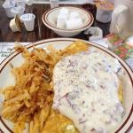 best cream chipped beef omelette