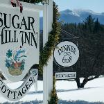 The view from the Sugar Hill Inn