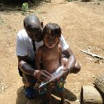 Myself and an Embera Kid