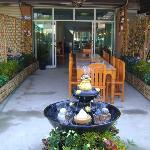 Outside Garden Restaurant (inside air conditioned)