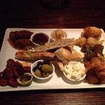The Scrumptious Tasting Plate..YUMMMMM