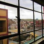 windows inside the room