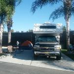 Anaheim RV Parking Spot - Excellent!