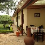 breakfast at Milimani Lodge