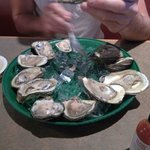 Oyster going quick..